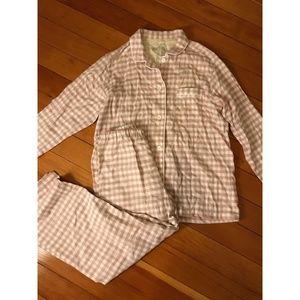 Muji Seamless Double Gauze Pajamas